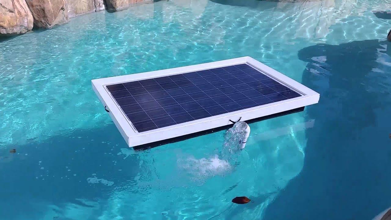2015 Natural Current Solar Pool Pump Filter System Youtube