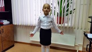 Полина Корольчук – «Лебедь, Щука и Рак» Ивана Крылова