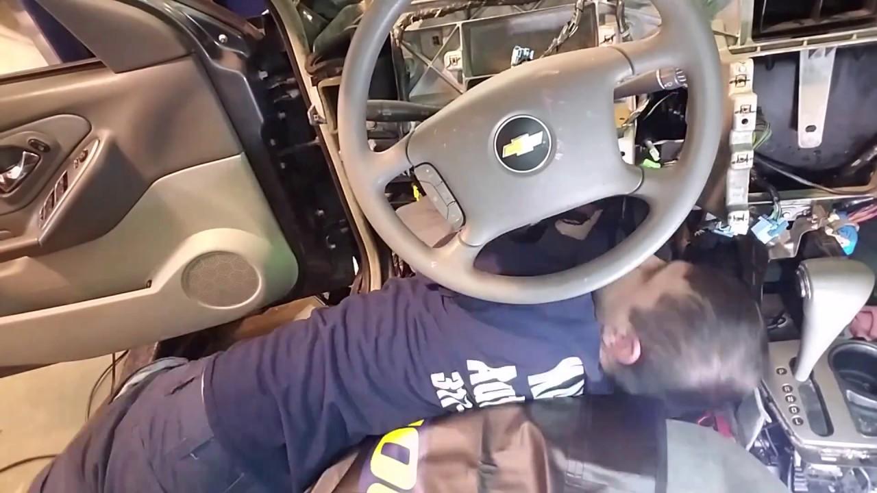 Dash \ Heater Core  06 Chevy Malibu  YouTube