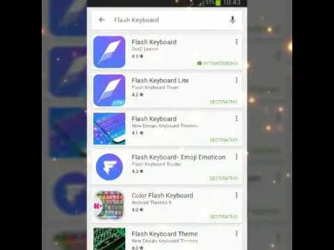 Клавиатура со смайликами как ВКонтакте и WhatsApp на андроид