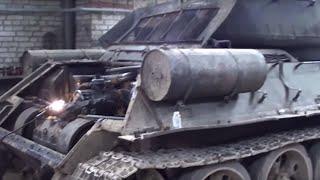 zarisovochka ''T-34 ta'mirlashbo'yicha tanklar''