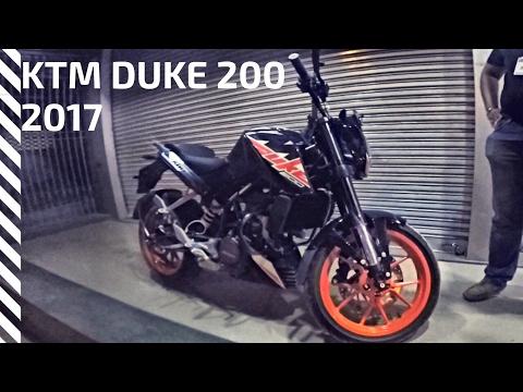 Major Changes in 2017 KTM Duke 200 | first Sneek look
