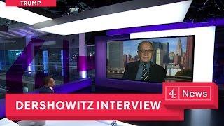 Alan Dershowitz interview: is Trump impeachment possible?