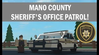 ROBLOX | Mano County Sheriff's Office | THE LIFE OF A TRAINEE