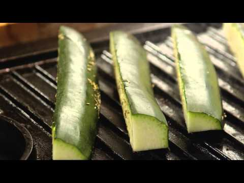 Vegetarian Recipes - How to Grill Zucchini