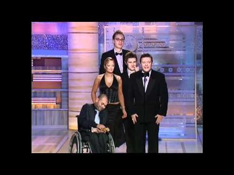 The Office UK Wins Best Television Series Musical or Comedy  Golden Globes 2004