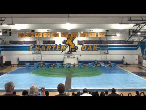 Charter Oak High School Winterguard 2016 @ Charter Oak