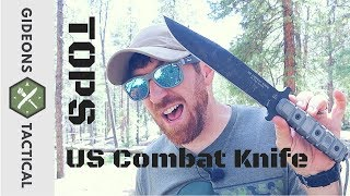 Way More Than A Combat Knife! TOPS US Combat Knife