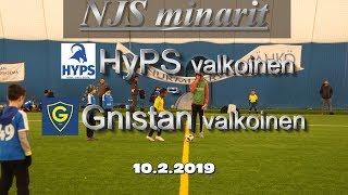 HyPS valkoinen vs Gnistan valkoinen 10.2.2019