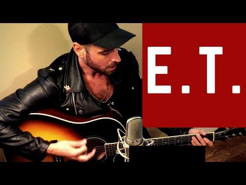 KATY PERRY - E.T. - ACOUSTIC COVER - KEVIN HAMMOND poster