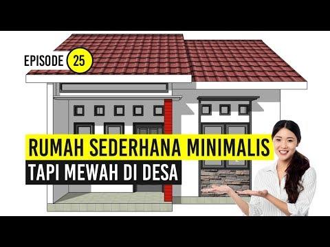 Rumah Minimalis Sederhana Tapi Mewah Di Desa Youtube