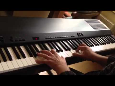 e piano yamaha pf 100 youtube. Black Bedroom Furniture Sets. Home Design Ideas