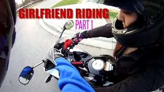 How To Ride a Motorcycle - Girlfriend  Beginner Edition - Part 1