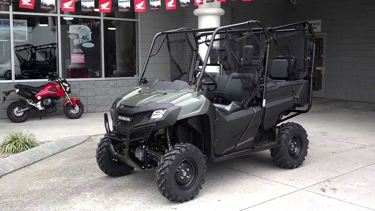 2014 Pioneer 700 4 Sale Price At Honda Of Chattanooga Tn