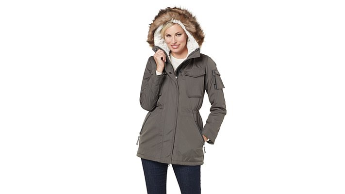 0fef3db1c8c S13 NYC Field Parka Jacket with Faux Fur - YouTube