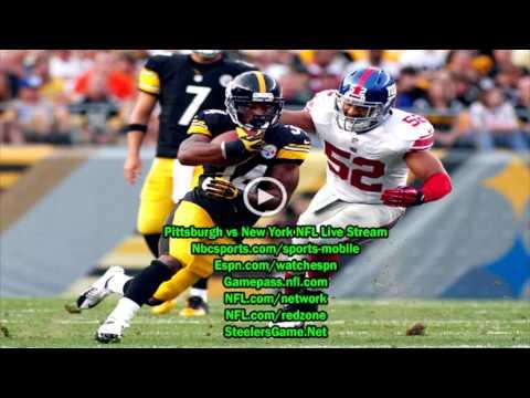 NFL 2017 preseason Week 1 : Pittsburgh Steelers vs New York Giants