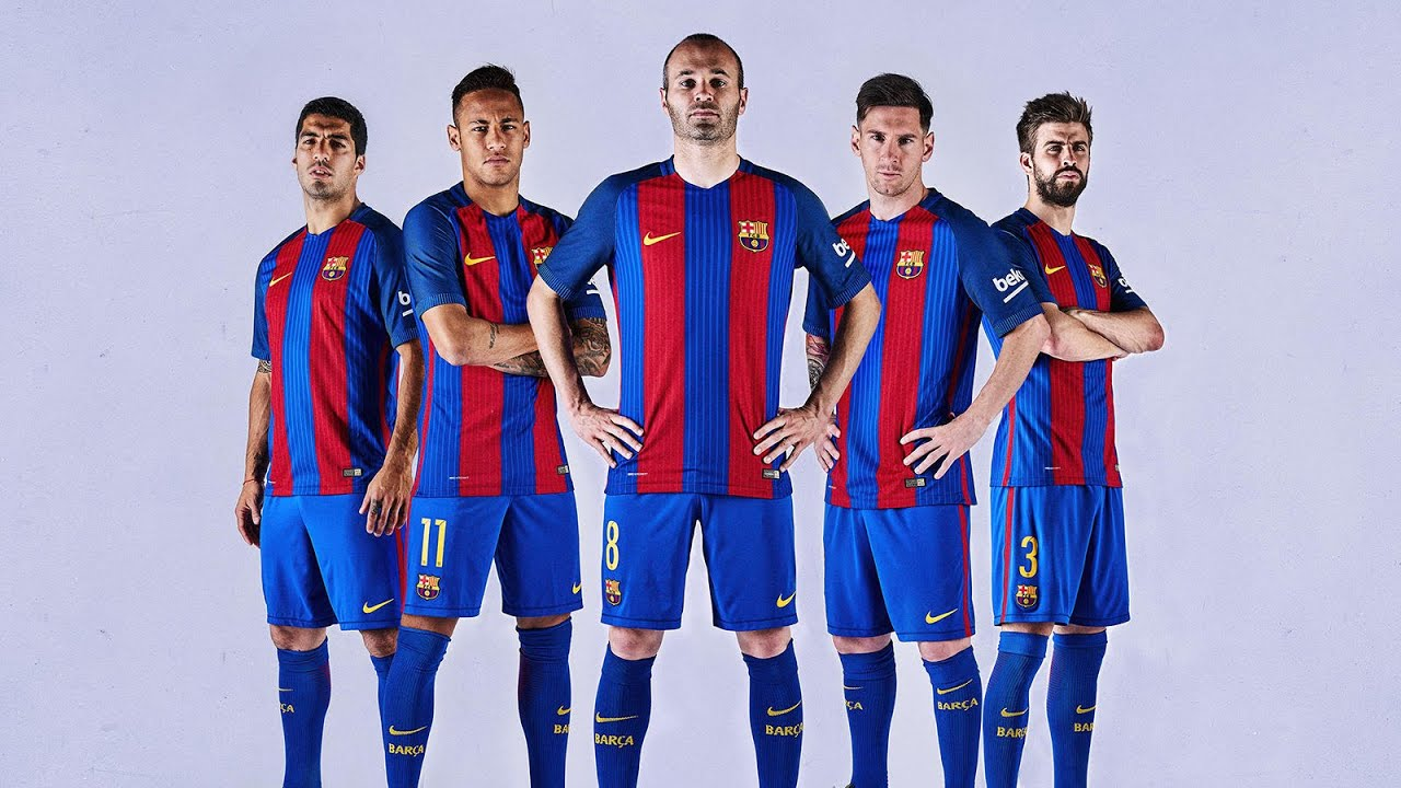 promo code b6fac a0045 barcelona football kit 2017