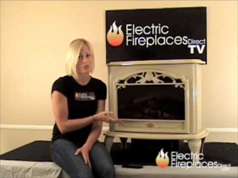 Dimplex Celeste Freestanding Electric Fireplace Stove in ...