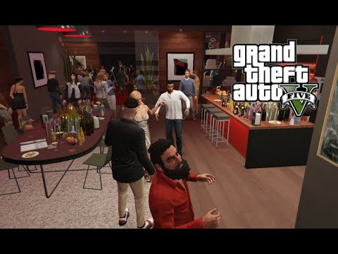 House Party Party Crashers 1 Gta 5 Mods Real Life Mods Youtube