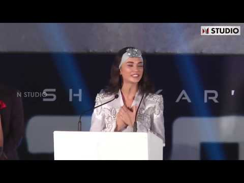 Amy Jackson Complete Speech | 2.0 Trailer Launch | Rajinikanth | Shankar | AR Rahman