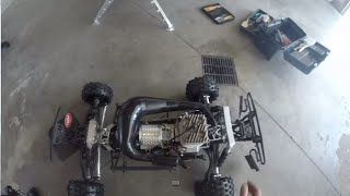 starting the rcmax 46 with wj 71 carb