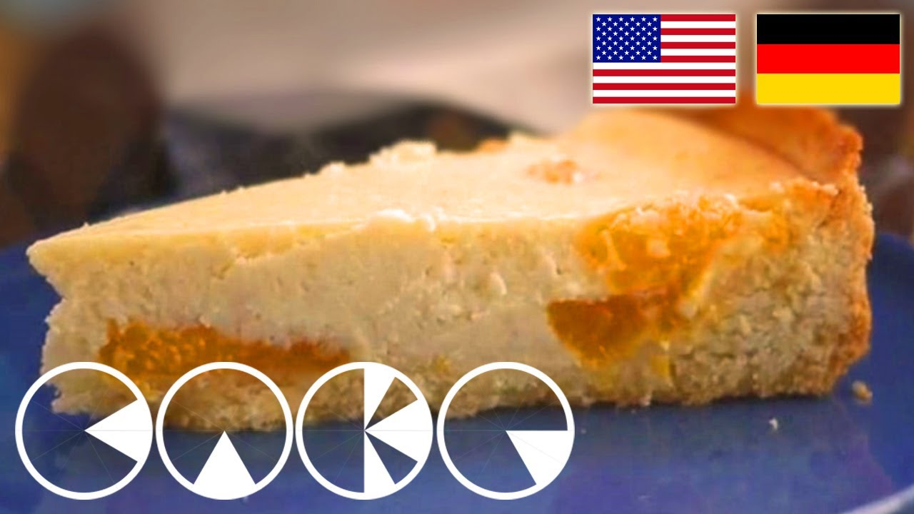 Kasekuchen Mit Mandarinen Rezept Cheese Cake With Mandarines