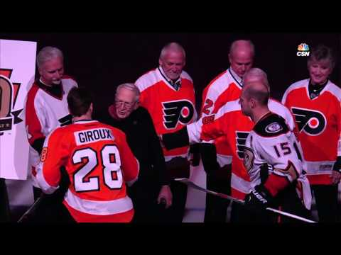 Philadelphia Flyers 50th! The ceremony dedicated golden anniversary alumni game, and more...