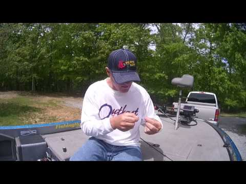 Bluegill/Redear Drop Shot Setup