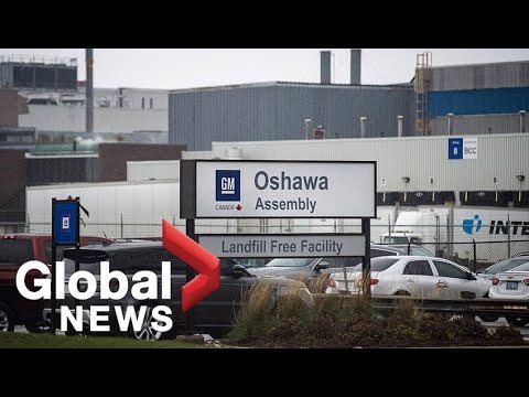 Union representing GM workers say they'll fight Oshawa plant closure