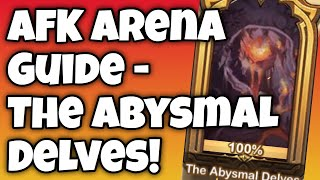 [AFK ARENA GUIDE] Peaks of Time - The Abysmal Delves! YouTube Videos