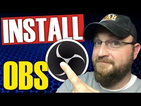 How To Install OBS Studio 2018