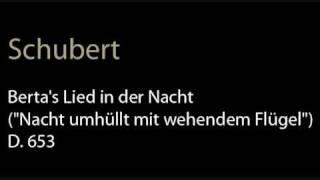 Schubert - D.653 Berta