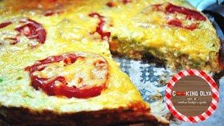 кабачковая пицца  Быстрый и простой рецепт от CookingOlya