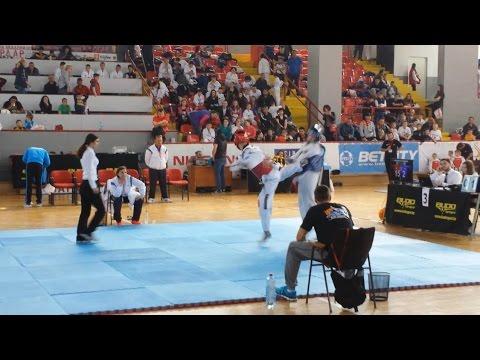 Skopia Open 2017 Juirdo Cani (ALB) Vs Macedonia - Tirana Taekwondo Team