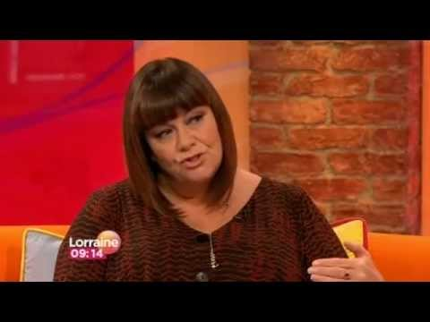 """Dawn French interview about """"Oh Dear Silvia"""" book on Lorraine - 25th October 2012"""