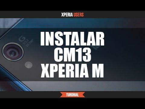 Como instalar CM13 Xperia M Android 6.0