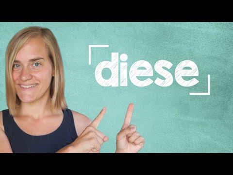 German Lesson (49) - Demonstrativpronomen - dieser - dieses - diese - A2