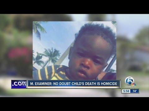 M. Examiner: No doubt child's death is homicide