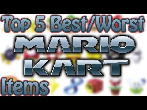 Top 5 Best/Worst Mario Kart Items
