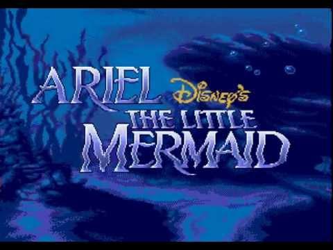 Ariel - The Little Mermaid (Sega Genesis) Full Walkthrough on Difficult