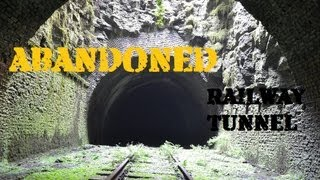 Abandoned Railway Tunnel - Tracks & Signal Boxes Still Intact! ------ Underground Urban Exploration
