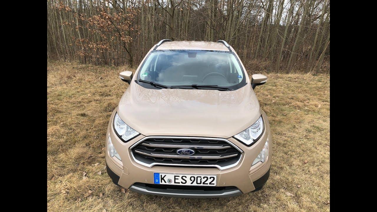 Ford Ecosport 2018 1.0 EB 125 AT6 test PL Pertyn Ględzi