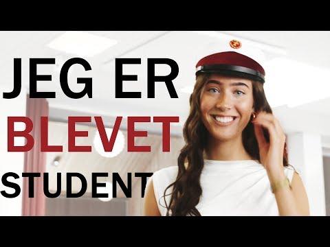 JEG ER BLEVET STUDENT! | vlog