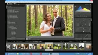 Часть 3  Тонирование свадебной фотографии