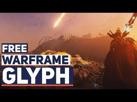 Warframe: My Glyph Code Free