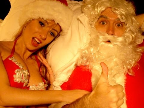 Santa and I Know It!  (LMFAO - Sexy and I Know It PARODY!) Key of Awesome #52!