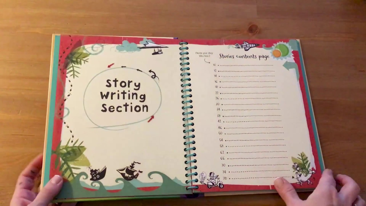 Write Your Own Story Book - Usborne