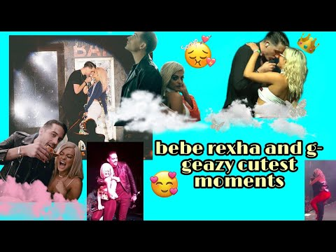 Bebe rexha and g eazy (cutest moments❤❤)