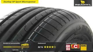 Обзор шин Dunlop Sport BluResponse