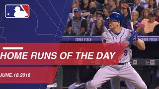 Watch all the home runs from June 18, 2018